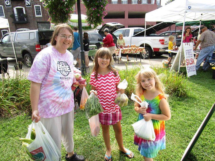 Kids Serving Food at Red Wing Farmers Market