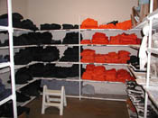 Detainee Uniform Storage